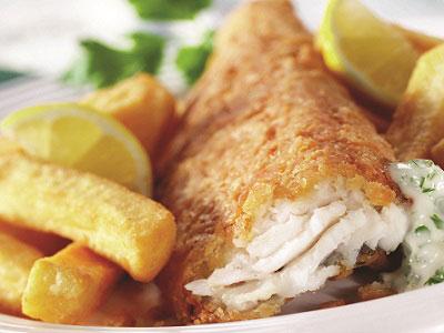 Fish n Chips train