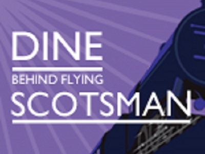 Dine Behind Flying Scotsman