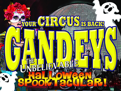 Gandey's Circus – Merry Hill - The Greatest Halloween Spooktacular