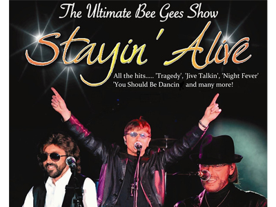Stayin Alive - The UK's Top Bee Gees Tribute Band