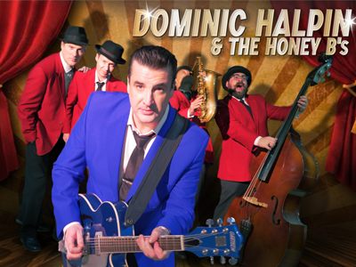 Dominic Halpin and the Honey B's