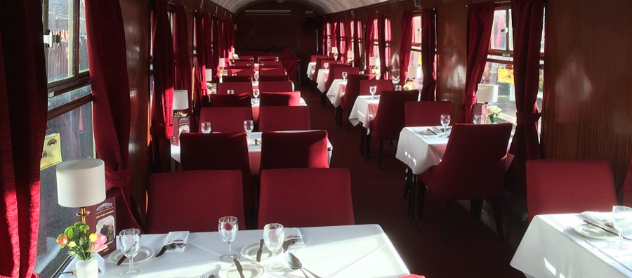 Pines Express dining train