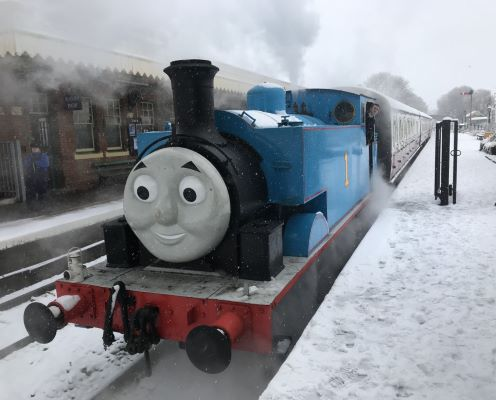 Festive Day Out With Thomas - East Anglian Railway Museum