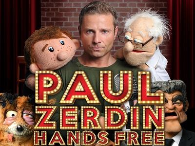Paul Zerdin Autumn 2021 tour