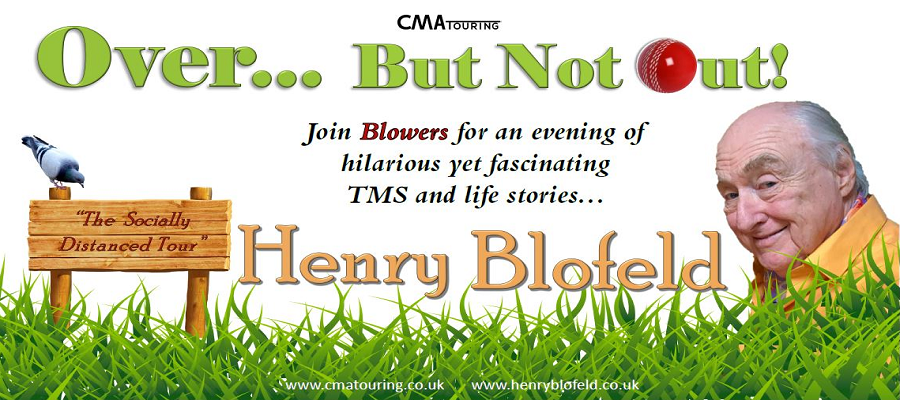 Over...But Not Out! - Henry Blofeld