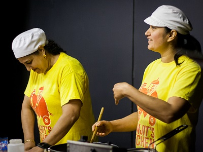 Cooking Vegetarian Indian Food with Manjit's Kitchen Online