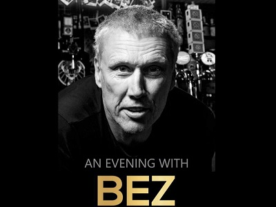 An Evening with Bez from The Happy Mondays
