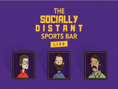 Socially Distant Sports Bar - Live