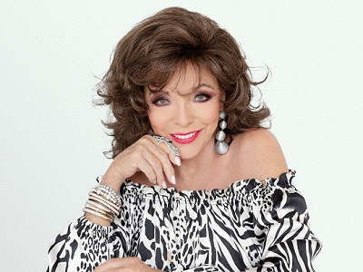 Dame Joan Collins is Unapologetic
