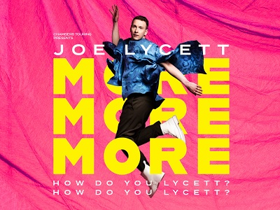 JOE LYCETT: MORE, MORE, MORE! HOW DO YOU LYCETT? HOW DO YOU LYCETT?