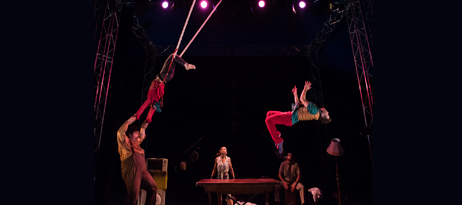Big Top in the Park: Lost in Translation Circus – The Hogwallops