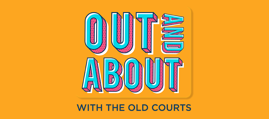 Out and About with The Old Courts