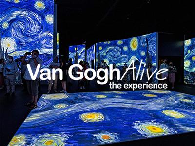 Van Gogh Alive MediaCityUK