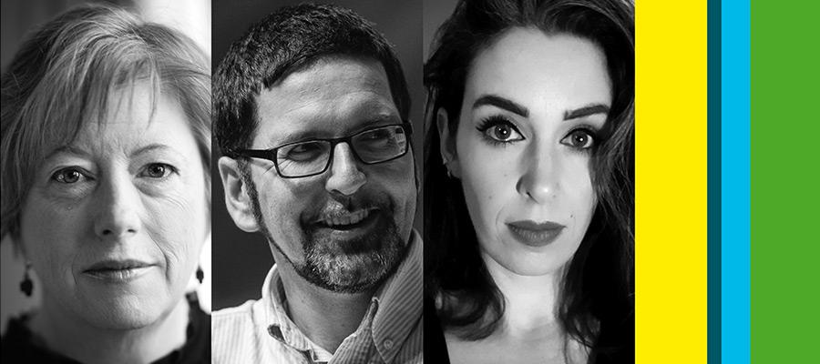 Vona Groarke, John McAuliffe & Victoria Kennefick