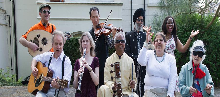Baluji Shrivastav OBE and The Inner Vision Orchestra