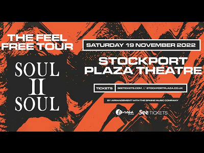 Soul II Soul 'FEEL FREE' UK Tour 2022
